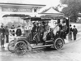 1906 Albion A3 12-Seater Charabanc, (C1906) Photographic Print