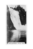 Montmorency Falls, Quebec, Canada, C1920S Giclee Print