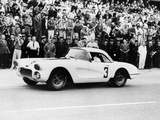 Chevrolet Corvette, Le Mans, France, 1960 Photographic Print