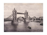 View of the East Side of Tower Bridge, Stepney, London, C1900 Photographic Print