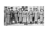 Tsar Nicholas II of Russia and His Generals and Staff, 1917 Giclee Print