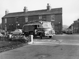 1950 Bedford S Type Fire Engine, (C1950) Photographic Print
