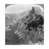 Mirror Lake, Half Dome and Clouds Rest, Yosemite Valley, California, USA, 1902 Giclee Print by  Underwood & Underwood