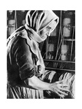 Female Factory Worker, Moscow, 1936 Giclee Print