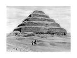 A Step Pyramid Outside Cairo, Egypt, C1920S Giclee Print
