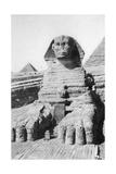 The Excavated Sphinx, Cairo, Egypt, C1920S Giclee Print