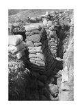 A Captured German Trench and Bunker System, Souchez, Artois, France, 1 June 1915 Giclee Print
