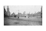 The Ruins and Bell Tower of Douai, France, 1918 Giclee Print