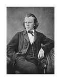 Johannes Brahms (1833-189), German Composer and Pianist, C1866 Giclee Print