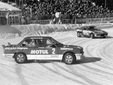 A BMW 325IX During the Chamonix Ice Race, France, 1989 Photographic Print