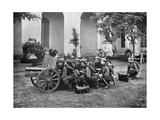Paraguayan Artillery, Paraguay, 1911 Giclee Print