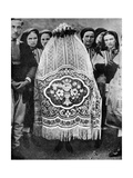 Veiled Bride, South Serbia, 1936 Giclee Print