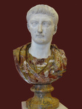 Bust of Tiberius, 1st H. 1st C Ad Photographic Print