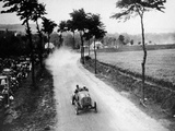 Alessandro Cagno Driving His Itala, French Grand Prix, Dieppe, 1908 Photographic Print