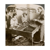 Manufacturing Silk, Syria, 1900s Giclee Print by  Underwood & Underwood