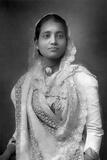 The Maharani of Koch Bihar, West Bengal, India, 1893 Reproduction photographique par W&d Downey