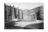 The Courtyard, Durham Castle, England, 20th Century Giclee Print