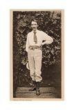 Robert Louis Stevenson in Samoa, C1890 Giclee Print