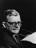 Dmitri Shostakovich, Russian Composer, 1960s Photographic Print