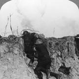 Artillery Observation Officer in Forward Post, France, World War I, 1914-1918 Photographic Print