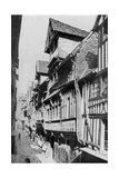 Medieval Lisieux, Normandy, France, C1930S Giclee Print