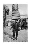 A Covent Garden Market Porter, London, C1922 Giclee Print