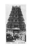 Hindu Temple, Srirangam, India, C1925 Giclee Print
