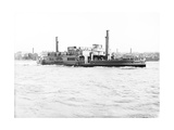 Ferry 'Gordon' on the Thames, London, C1905 Photographic Print