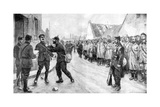 A German Prisoner Dares to Attack an Officer, France, World War I, 1915 Giclee Print