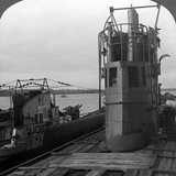 Conning Tower of a Mine-Laying German U-Boat, World War I, 1914-1918 Photographic Print