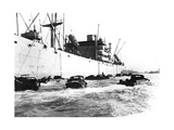 American Amphibious Vehicles, Le Havre, France, 1944 Giclee Print