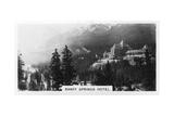 Banff Springs Hotel, Alberta, Canada, C1920S Giclee Print