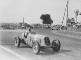 Étancelin in His Maserati at the Dieppe Grand Prix, France, 22 July 1934 Photographic Print