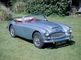 A 1965 Austin Healey 3000 MK3 Photographic Print