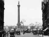 Nelson's Column, Trafalgar Square, London, 1920 Photographic Print