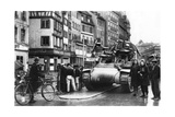 The First Allied Tanks Arrive in Strasbourg, Alsace, November 1944 Giclee Print