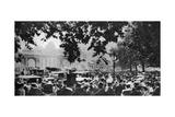 Hyde Park on a Fine Ascot Sunday, London, 1926-1927 Giclee Print