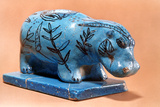 Ancient Egyptian Hippopotamus Figurine, 16th Century BC Photographic Print