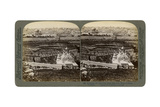 Jerusalem, as Seen from the Mount of Olives, Palestine, 1901 Giclee Print by  Underwood & Underwood