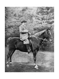 King Edward VII Riding to the Coverts at Sandringham, Norfolk, C1902-C1910 Giclee Print by  Knights-Whittome