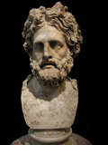 Asclepius, God of Medicine and Healing, 2th Century BC Photographic Print