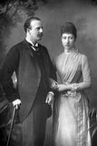 The Duke and Duchess of Fife, 1890 Reproduction photographique par W&d Downey