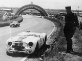 Crashed Cunningham C2-R, Le Mans, France, 1951 Photographic Print