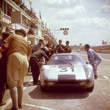 A Porsche 904/4 Gts in the Pits, Le Mans, France, 1964 Photographic Print