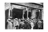 Damaged Austrian Jewellers' Shop, Paris, First World War, 1914 Giclee Print