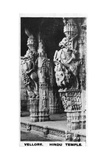 The Front Hall of a Hindu Temple, Vellore, India, C1925 Giclee Print