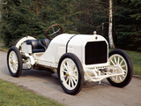 A White 1908 Benz Racer Photographic Print