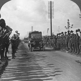 A Royal Visit to the Troops, Enthusiastic Welcome by the Canadians, World War I, C1914-C1918 Photographic Print