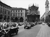 Fiats at a Rally, Turin, Italy, C1960 Photographic Print