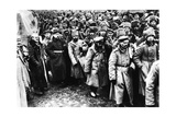 Russians Taken Prisoner by Germany on the Eastern Front, World War I, 1914-1917 Giclee Print